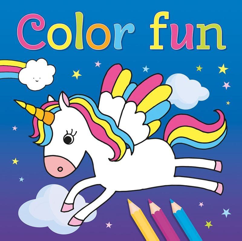 ,Color Fun Unicorns
