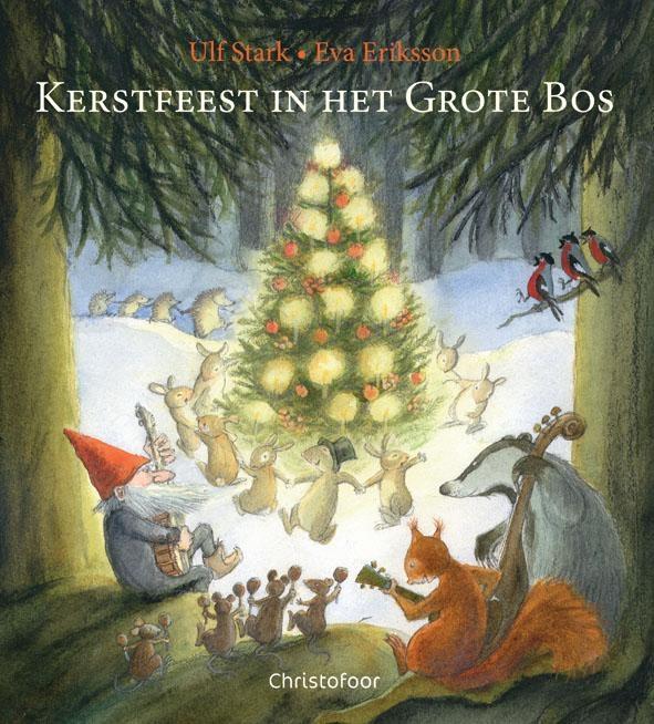 Ulf Stark,Kerstfeest in het grote bos