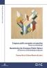 ,L`espace public européen en question Questioning the European Public Sphere