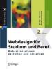 Hammer, Norbert,Webdesign Fur Studium Und Beruf