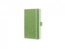 ,notitieboek Sigel Jolie Flair A6 hardcover gelinieerd groen