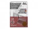 ,schutbladen ProfiOffice A4 270gr. karton 100 stuks leer     bruin