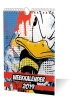 ,WEEKKALENDER 2019 DONALD DUCK los