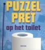 Son  Tyberg,Puzzelpret op het toilet