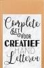 ,<b>Complete set voor creatief handletteren</b>