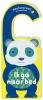 ,Deurhangerboek - Bedtijd met panda