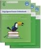 ,Begrijpend Lezen Oefenboeken Compleet 1, 2 en 3 - Groep 6 Begrijpen lezen opgaven- en antwoordenboek,Verschillende type teksten en bijbehorende doelen.