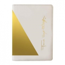 Galison Frank Lloyd Wright Geometry Passport Cover