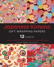 Tuttle Japanese Kimono Gift Wrapping Paper