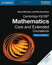 Morrison, Karen Cambridge Igcse(r) Mathematics Core and Extended Coursebook
