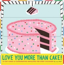 Lucy,Mail Love You More than Cake Cards