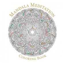 Sterling Publishers Mandala Meditation Coloring Book