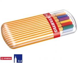 , Fineliner STABILO point 88 Zebrui etui à 20 kleuren