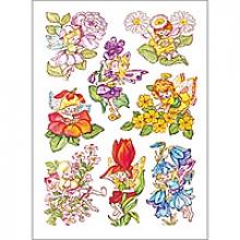 , Etiket Herma bloemenelfen
