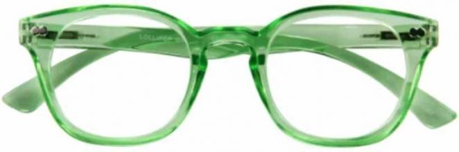 G16500 , I need you leesbril lollipop groen 2.00