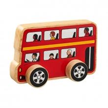 , Lanka kade  dubbeldekker bus van hout