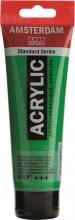 , Talens amsterdam acrylverf tube 120 ml. permanent groen licht 618