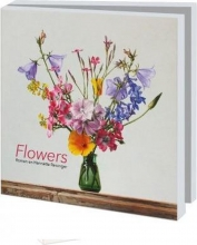 Wmc971 , Notecards 10 stuks 15x15 flowers roman en henriette reisinger