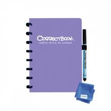 , Notitieboek Correctbook A5 lijn 40blz petunia purple