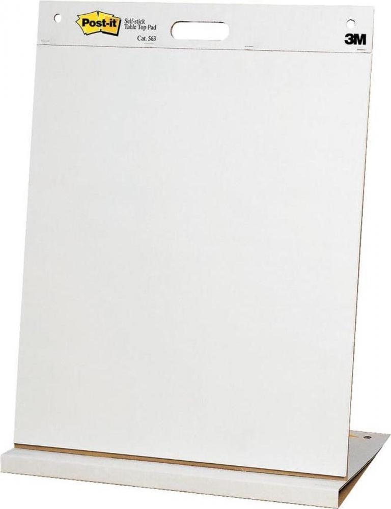 ,Meeting chart 3M Post-it 563 Super Sticky 508x584mm blanco