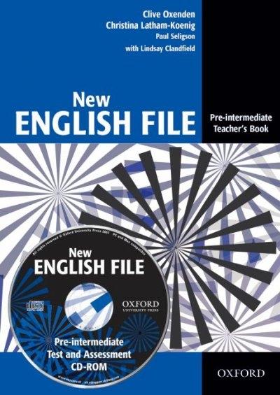 Oxenden, Clive,   Latham-Koenig, Christina,   Seligson, Paul,   Clandfield, Lindsay,New English File: Pre-interm, Teacher`s Bk. w. Test CD