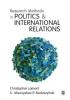 Christopher Lamont, Mieczyslaw P. Boduszynski, Research Methods in Politics and International Relations