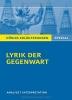 Blecken, Gudrun, Lyrik der Gegenwart.