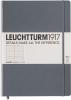 <b>Lt344812</b>,Leuchtturm notitieboek master slim a4 lijn antraciet
