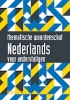 <b>H. Van Loo P.  Schoenaerts</b>,Thematische woordenschat Nederlands voor anderstaligen