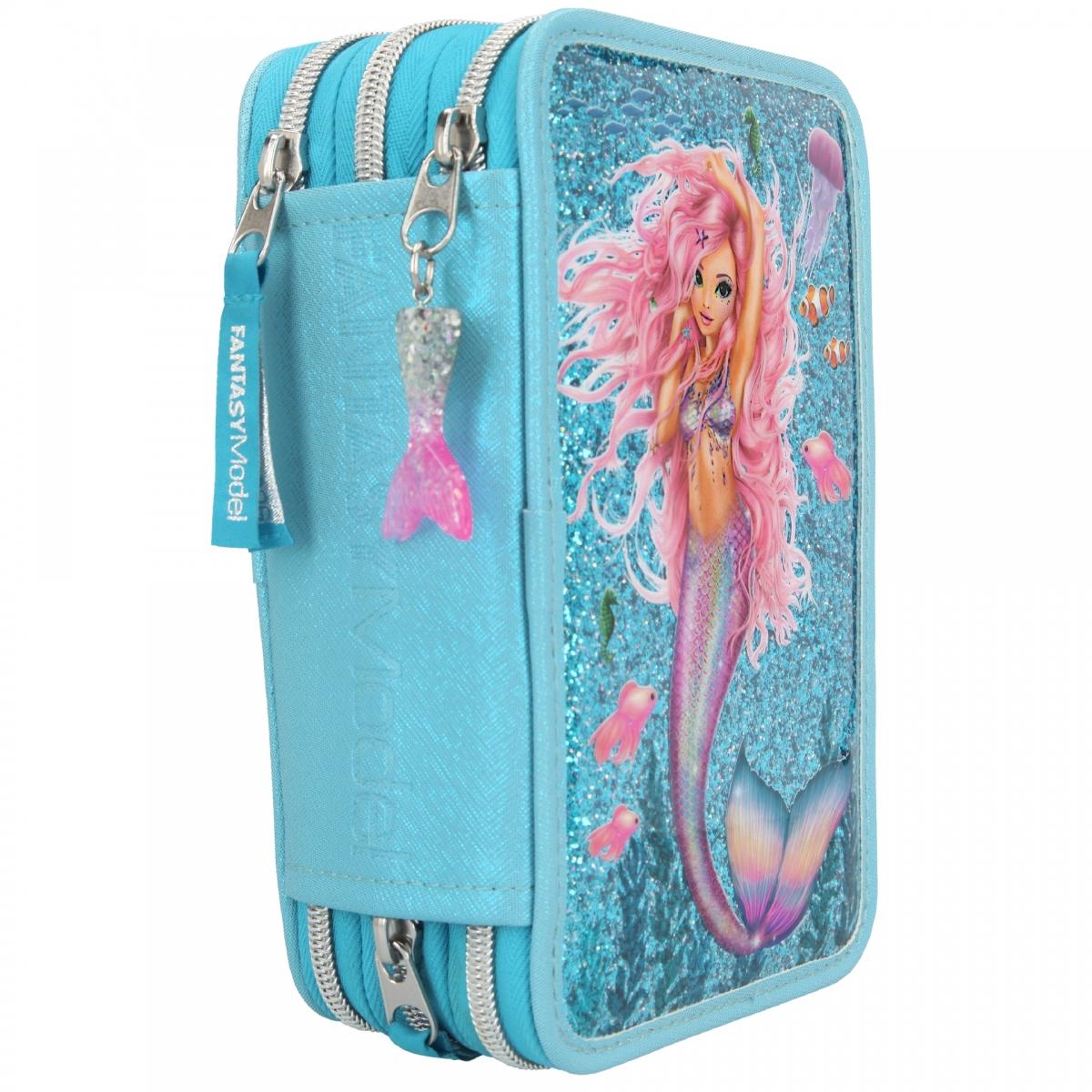 ,Fantasy model 3-vaks etui gevu ld mermaid