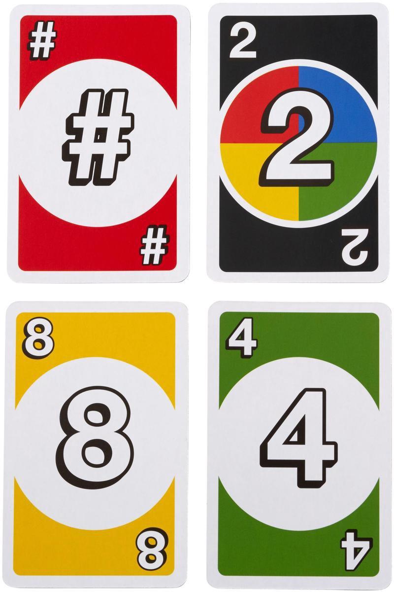 Mat-frm36,Uno - dos cardgame