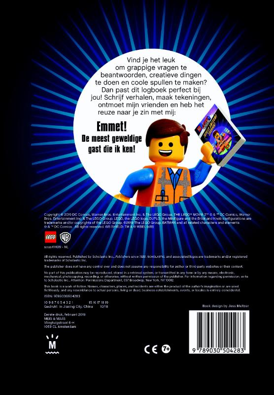 ,LEGO Movie 2: Super geweldig logboek