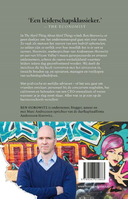 Ben Horowitz,The Hard Thing about Hard Things
