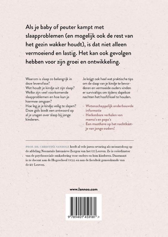Christine Vanhole, Mama Baas,EHBK* slaap (Eerste Hulp Bij Kleine kinderen)