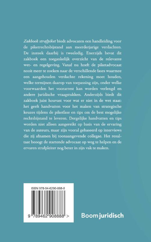 Bram Horenblas, Sam van den Akker,Zakboek strafpiket