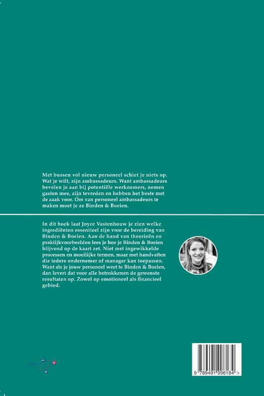 Joyce Vastenhouw,Binden & Boeien op de kaart
