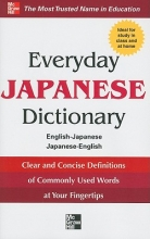 Collins Everyday Japanese Dictionary