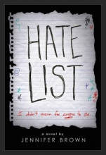 Brown, Jennifer Hate List