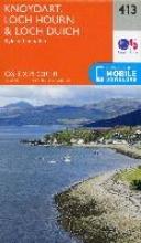 Ordnance Survey Knoydart, Loch Hourn and Loch Duich