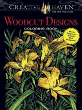 Tim Foley Creative Haven Woodcut Designs Coloring Book