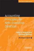 Holgate, Peter Accounting Principles for Non-Executive Directors