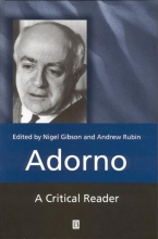 Gibson, Nigel C. Adorno