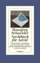 Schneider, Hansjörg Nachtbuch für Astrid