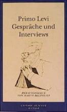 Levi, Primo Gespräche und Interviews