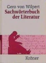 Wilpert, Gero von Sachwörterbuch der Literatur
