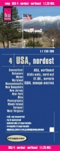 , World Mapping Project USA 04. Nordost 1 : 1 250 000