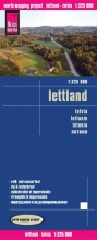 , Reise Know-How Landkarte Lettland 1 : 325 000