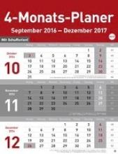 4-Monats-Planer 2017
