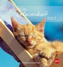 Ich wnsch dir Gelassenheit 2017 Postkartenkalender