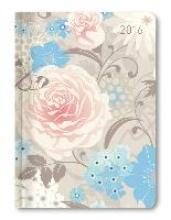 Mini-Buchkalender Style Azure Blossoms 2016